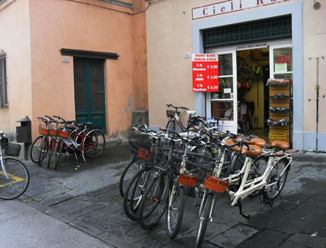 External of Cicli RAI shop